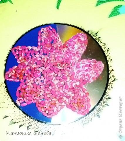 Берем конечно же крупу и красим её в нужный цвет. Как её красить посмотрите вот здесь, прошу прощения у автора МК если он против того что я воспользовалась его работой http://stranamasterov.ru/node/50018 фото 5