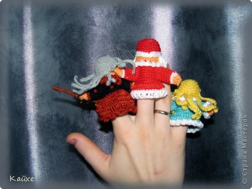 Дед Мороз, Снегурочка и Баба Яга фото 2