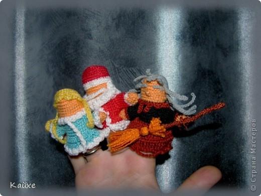 Дед Мороз, Снегурочка и Баба Яга фото 1