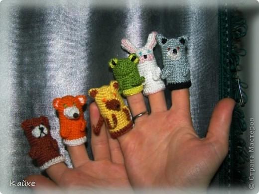Вязание крючком - Пальчиковый
