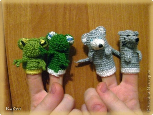 Мышка-норушка, лягушка-квакушка, зайчик-побегайчик, лисичка-сестричка, волчок-серый-бочок и медведь косолапый. фото 5