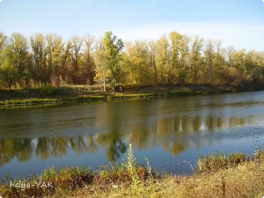 Эти снимки сделаны в разные годы. Река Кинель в Самарской области. фото 1