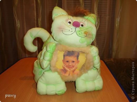 Сделала рамочку для фотографии моего внучека...... фото 3