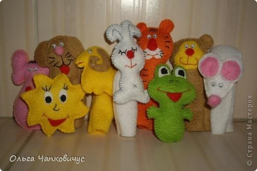 Пальчиковые игрушки фото 1