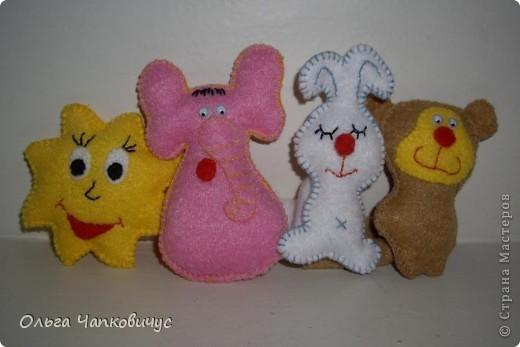 Пальчиковые игрушки фото 2