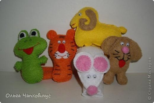Пальчиковые игрушки фото 3