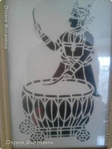 """Трафареты """"Африка"""" фото 1"""