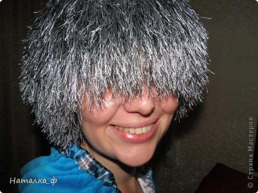 """Попались мне интересные ниточки... как """"травка""""... И сразу пришла идея, что чудная может получиться шапка))) фото 1"""
