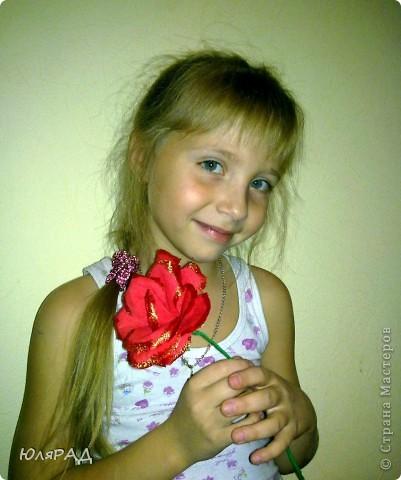 Мои первые розы. Сделала по МК Lavanda  фото 2