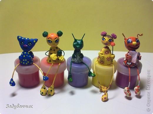Вот такие миниатюрки из пластики и глины вылепились фото 2