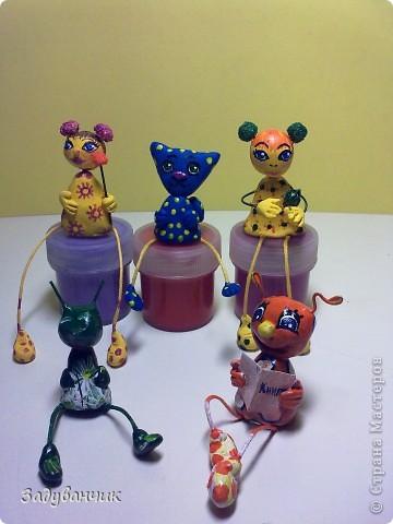 Вот такие миниатюрки из пластики и глины вылепились фото 4