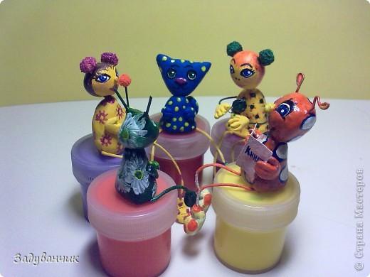Вот такие миниатюрки из пластики и глины вылепились фото 1