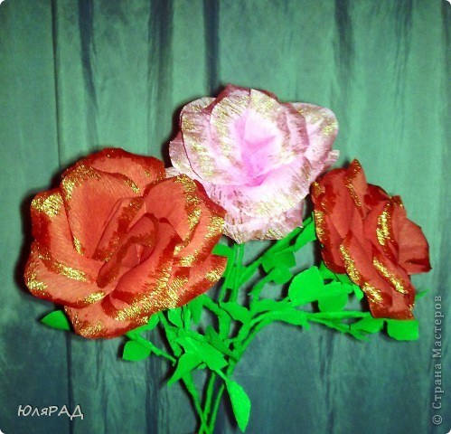 Мои первые розы. Сделала по МК Lavanda  фото 1