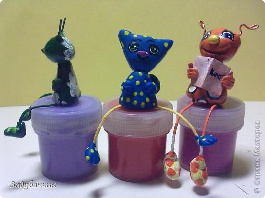 Вот такие миниатюрки из пластики и глины вылепились фото 5