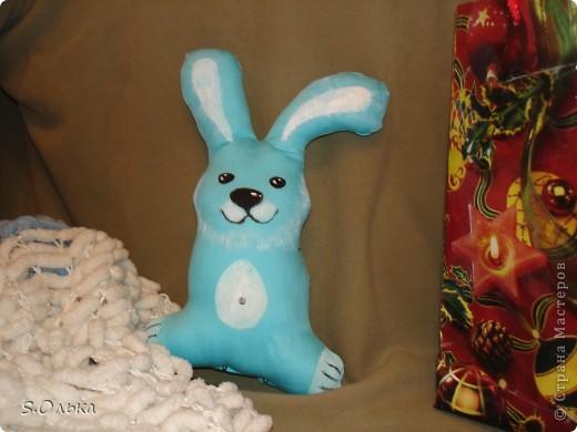 Новогодний кролик  фото 1