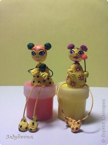 Вот такие миниатюрки из пластики и глины вылепились фото 6