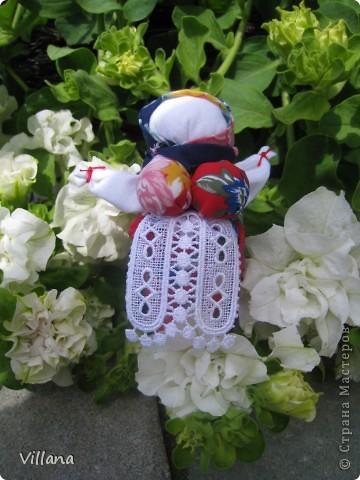 Вепская кукла – это образ замужней женщины- матери-кормилицы. Ее большая грудь символизирует способность прокормить всех.  Этих куколок я сделала для своих родных и подруг ещё летом и они как то сразу прижились в своих новых семьях, что очень радует;)))  фото 7