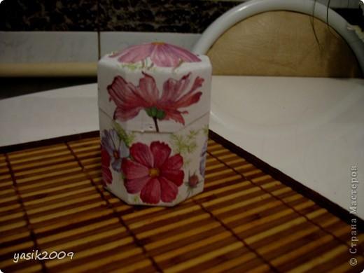коробочка для ватных палочек фото 1
