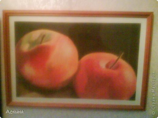 Это мой первый рисунок пастелью. Рисовала по самоучителю. фото 6