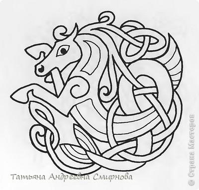 Кельтский орнамент в оформлении одежды