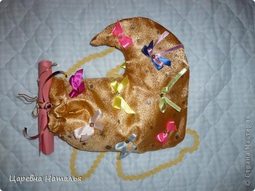 вот такие новогодние сапожки в смешанной технике получили учителя моей дочки на новый год два года назад (а внутри конфеты) фото 3