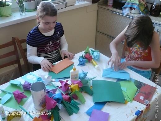 Вот такие букеты мы создали для любимых учителей на 8 марта (я и одноклассники моей дочки) фото 2