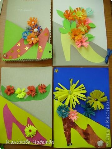 Вот такие подарочные букеты выросли из туфелек в День Матери! фото 2