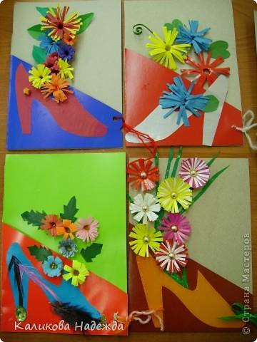 Вот такие подарочные букеты выросли из туфелек в День Матери! фото 3
