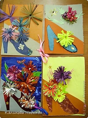 Вот такие подарочные букеты выросли из туфелек в День Матери! фото 5