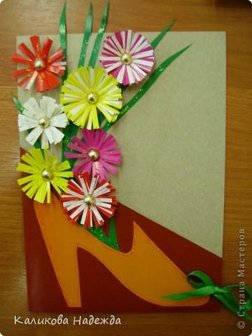 Вот такие подарочные букеты выросли из туфелек в День Матери! фото 1