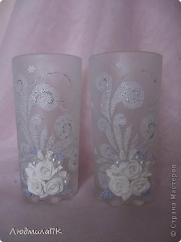 Украсила такие вот стаканчики на праздничный стол. фото 1