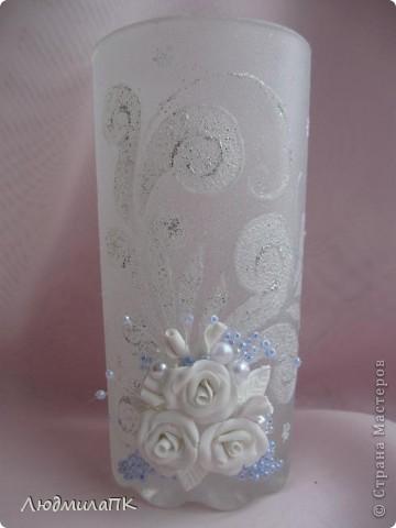 Украсила такие вот стаканчики на праздничный стол. фото 2