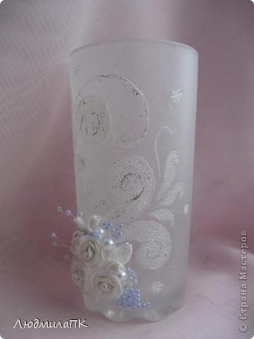 Украсила такие вот стаканчики на праздничный стол. фото 6