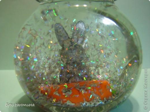 Шар с блестками или снежный шар - волшебная новогодняя игрушка! Захотелось сделать такую же! фото 15