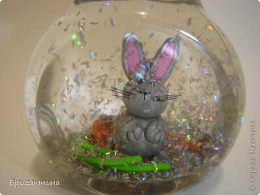 Шар с блестками или снежный шар - волшебная новогодняя игрушка! Захотелось сделать такую же! фото 1