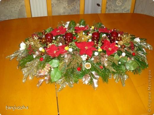 Каждый год всей семьёй делаем рождественский венок . Для моей семьи это стало доброй традицией.Всё время венок хочу сделать поменьше но всегда получается с размахом. В этом году он у нас такой. Завтра зажгём первую свечку. фото 2