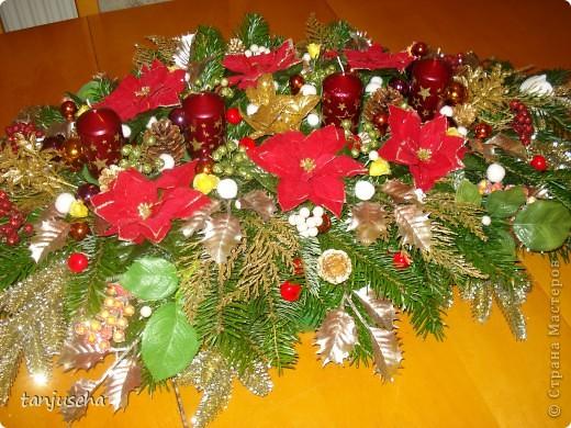 Каждый год всей семьёй делаем рождественский венок . Для моей семьи это стало доброй традицией.Всё время венок хочу сделать поменьше но всегда получается с размахом. В этом году он у нас такой. Завтра зажгём первую свечку. фото 4