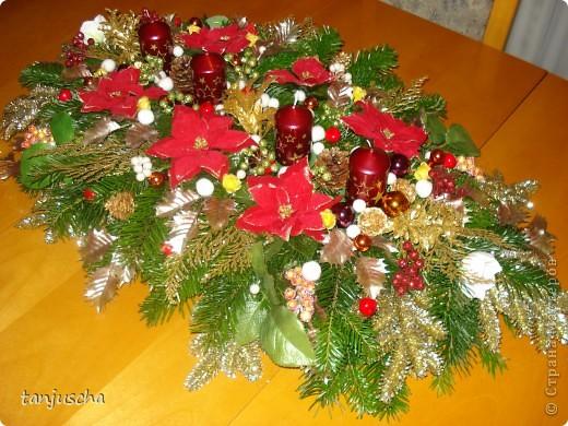 Каждый год всей семьёй делаем рождественский венок . Для моей семьи это стало доброй традицией.Всё время венок хочу сделать поменьше но всегда получается с размахом. В этом году он у нас такой. Завтра зажгём первую свечку. фото 1