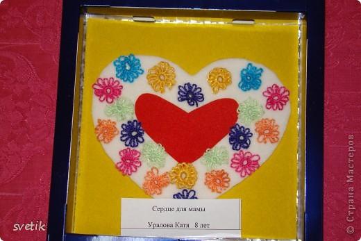"""Сегодня в ЦВР""""Эврика"""" проходила выставка и был  праздничный концерт, посвященный Дню матери. Дети нескольких кружков представили свои работы на выставке. фото 10"""