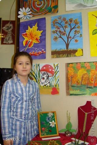 """Сегодня в ЦВР""""Эврика"""" проходила выставка и был  праздничный концерт, посвященный Дню матери. Дети нескольких кружков представили свои работы на выставке. фото 18"""