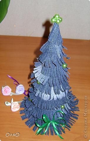 А вот и моя джинсовая елочка! Спасибо большое за идею Островитянке и её МК http://stranamasterov.ru/node/114785?c=favorite фото 1