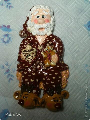 наш Joulupukki  (дед мороз) в рамочку еще не оформила
