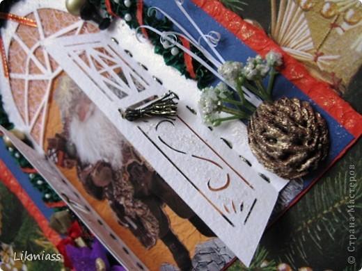 Новый год - самый любимый праздник, он из детства. Не только елка, подарки, Дед Мороз, но и особое чувство предвкушения очередного этапа жизни, который будет полон удивительными событиями, только заверни за этот календарный угол. А мы с вами заглянем в дверь и посмотрим как живет самый главный герой праздника и куда это он собрался. Итак... фото 3