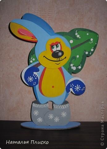 Новогодний зайчик - символ наступающего года... фото 1