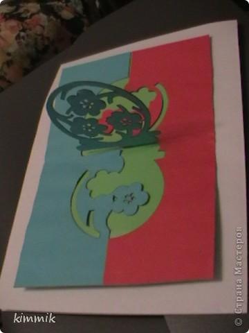 открытки. киригами фото 4