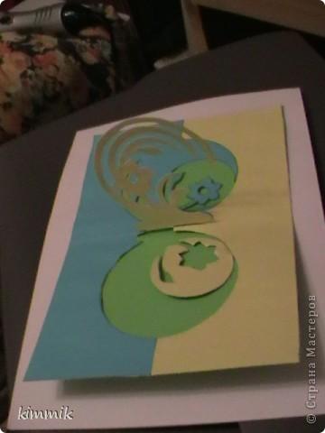 открытки. киригами фото 2