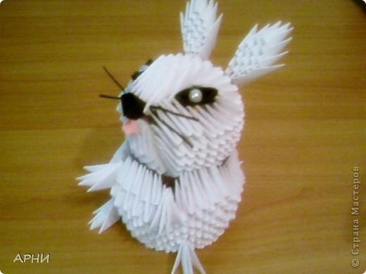 Новогодний кролик есть теперь и у меня. Спасибо Бригантине за схему. фото 1