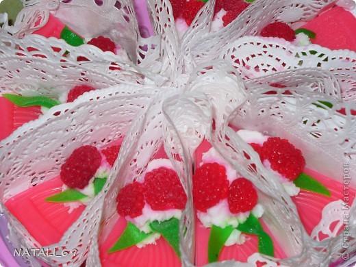 малиновый тортик 2 фото 2