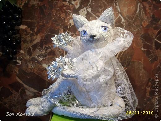 Волшебная, Сказочная, Мерцающая - Новогодняя кошечка. фото 1