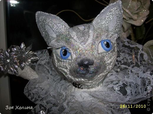 Волшебная, Сказочная, Мерцающая - Новогодняя кошечка. фото 3
